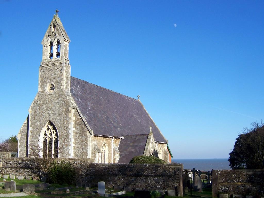 St Johns church, Kingsdown 1850